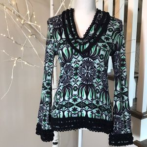 Tory Burch Cover Up Long Sleeve